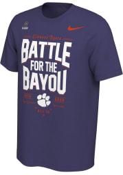 Nike Clemson Tigers Purple 2019 College Football Playoff Bound Short Sleeve T Shirt