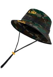 Nike LSU Tigers Green Dry Mens Bucket Hat