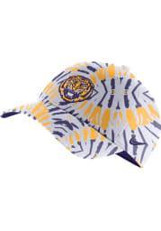 Nike LSU Tigers H86 Festival Adjustable Hat - White