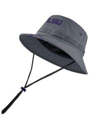 Nike LSU Tigers Grey Dry Mens Bucket Hat