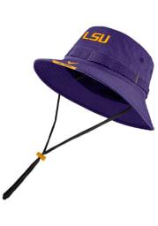 Nike LSU Tigers Purple Dry Mens Bucket Hat