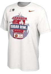 Nike Clemson Tigers White 2020 College Football Playoff Bound Short Sleeve T Shirt