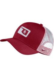 Nike Oklahoma Sooners C99 Trucker Adjustable Hat - Crimson