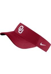 Nike Oklahoma Sooners Mens Crimson Dri-Fit Adjustable Visor