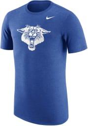 Nike Kentucky Wildcats Blue Vault Short Sleeve Fashion T Shirt
