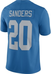 Barry Sanders Nike Detroit Lions Mens Blue Home Limited Football Jersey