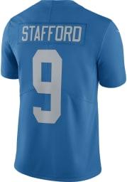 Matthew Stafford Nike Detroit Lions Mens Blue Home Limited Football Jersey