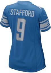 Matthew Stafford Nike Detroit Lions Womens Blue Home Game Football Jersey