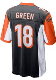 AJ Green Nike Cincinnati Bengals Black Home Game Football Jersey