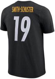 JuJu Smith-Schuster Pittsburgh Steelers Black Player Pride 3.0 Short Sleeve Player T Shirt