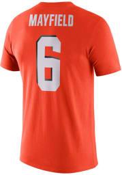 Baker Mayfield Cleveland Browns Orange Player Pride Short Sleeve Player T Shirt
