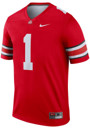 Nike Ohio State Buckeyes Red Home Legend Football Jersey