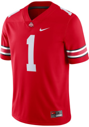 Nike Ohio State Buckeyes Red Home Game Football Jersey