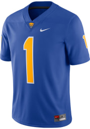 Nike Pitt Panthers Blue Game Home Football Jersey