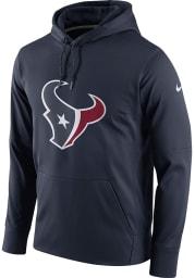 Nike Houston Texans Mens Navy Blue Logo Essential Hood