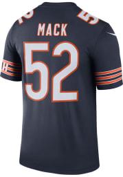Khalil Mack Nike Chicago Bears Navy Blue Legend Football Jersey