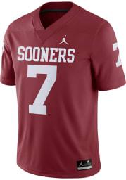 Nike Oklahoma Sooners Crimson Game Home Football Jersey