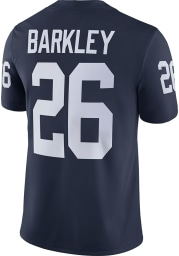 Saquon Barkley Nike Penn State Nittany Lions Navy Blue Game Football Jersey