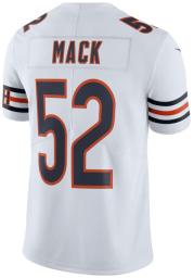 Khalil Mack Nike Chicago Bears Mens White Road Limited Football Jersey