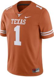 Nike Texas Longhorns Burnt Orange Road Football Jersey