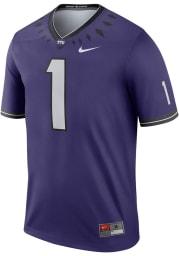 Nike TCU Horned Frogs Purple Legend Home Football Jersey