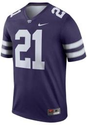 Nike K-State Wildcats Purple Legend Home Football Jersey