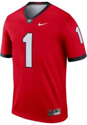 Nike Georgia Bulldogs Red Legend Home Football Jersey