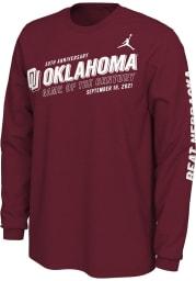 Nike Oklahoma Sooners Crimson Game Of The Century Long Sleeve T Shirt