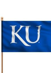 Kansas Jayhawks 3x5 Blue Sleeve Applique Flag