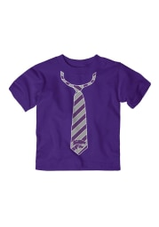 K-State Wildcats Toddler Purple Tied Up Short Sleeve T-Shirt