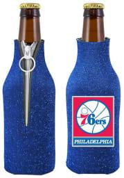 Philadelphia 76ers Blue Glitter Bottle Coolie