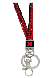 Nebraska Cornhuskers Red Gem Lanyard