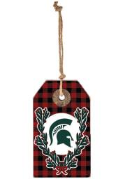 Michigan State Spartans Gift Tag Ornament