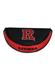 Rutgers Scarlet Knights Black PUTTER COVER Putter Cover