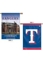 Texas Rangers 28x40 2 Sided Silk Screen Banner