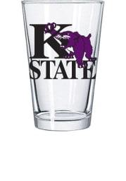 K-State Wildcats 16oz Growling Wildcat Pint Glass