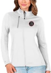 Antigua Toronto Raptors Womens White Generation Light Weight Jacket