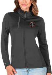 Antigua Toronto Raptors Womens Grey Generation Light Weight Jacket