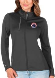 Antigua Washington Wizards Womens Grey Generation Light Weight Jacket