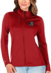 Antigua Toronto Raptors Womens Red Generation Light Weight Jacket