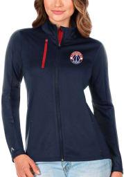 Antigua Washington Wizards Womens Navy Blue Generation Light Weight Jacket