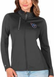 Antigua Tennessee Titans Womens Grey Generation Light Weight Jacket
