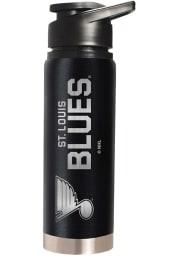 St Louis Blues Black 20oz Hydration Stainless Steel Tumbler - Black