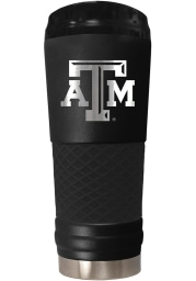 Texas A&M Aggies Stealth 24oz Powder Coated Stainless Steel Tumbler - Black