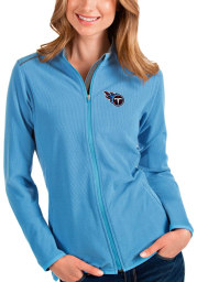 Antigua Tennessee Titans Womens Blue Glacier Light Weight Jacket