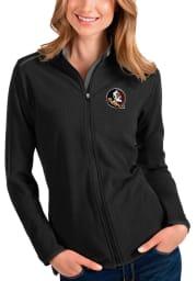 Antigua Florida State Seminoles Womens Black Glacier Light Weight Jacket