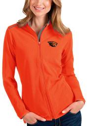 Antigua Oregon State Beavers Womens Orange Glacier Light Weight Jacket