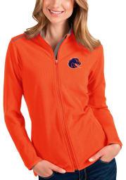 Antigua Boise State Broncos Womens Orange Glacier Light Weight Jacket