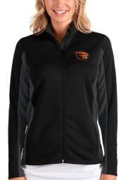 Antigua Oregon State Beavers Womens Black Passage Medium Weight Jacket