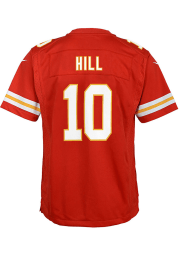 Tyreek Hill Kansas City Chiefs Youth Red Nike Home Football Jersey